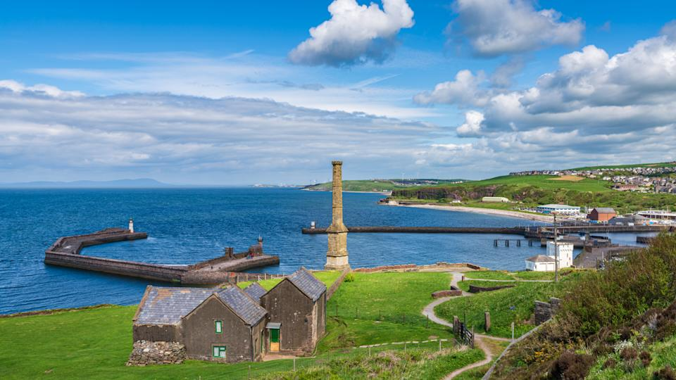 The view over Whitehaven, in Copeland, Cumbria. Copeland has been named one of the most afforable rural regions to buy a house. (Getty)