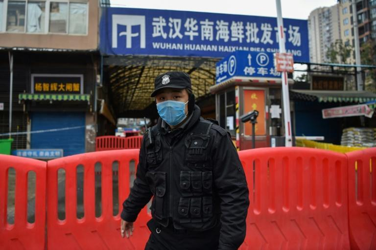 Chinese scientists have said the virus likely jumped from an animal to humans in a market that sold wildlife in Wuhan