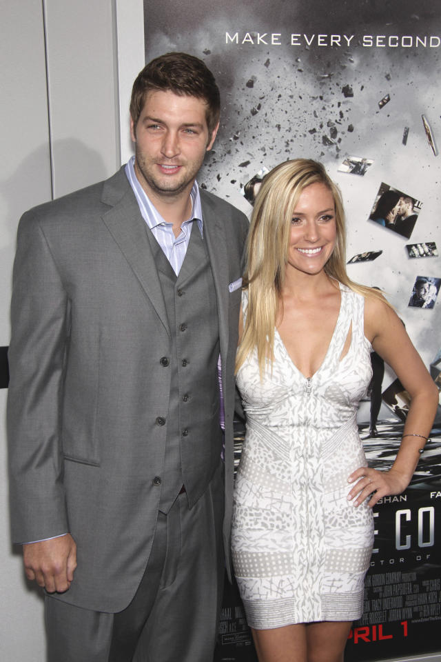 Jay Cutler and Kristin Cavallari at the film premiere of 'Source Code' at the Arclight Cinerama Dome in Los Angeles, California. March 28, 2011© MPI20 / MediaPunch Inc. /IPX