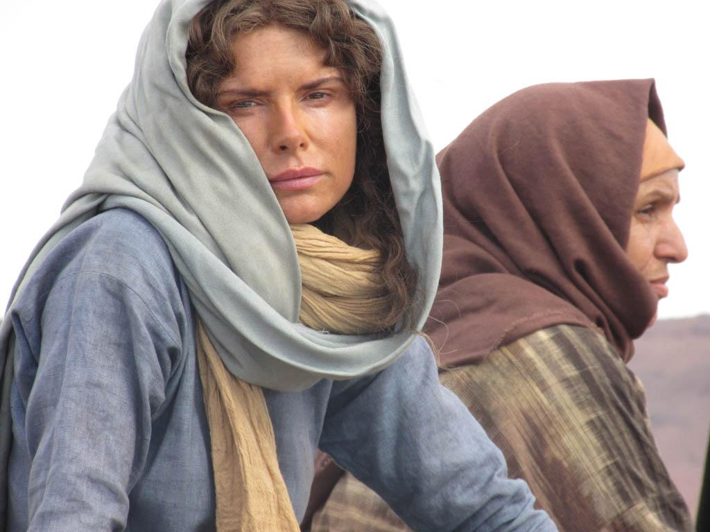 Roma Downey as Mother Mary.