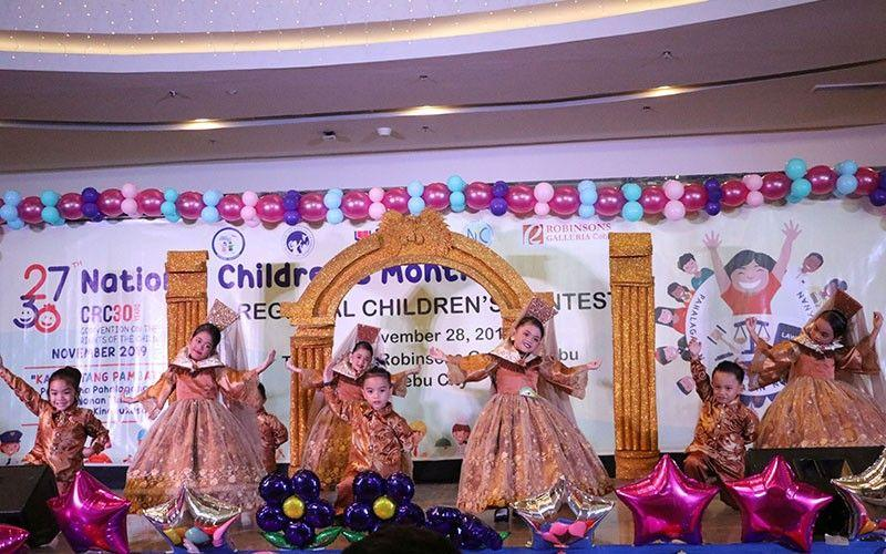 DSWD 7 celebrates children's month