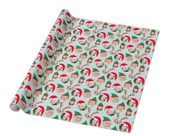 """<strong><h3><a href=""""https://www.zazzle.com/c/wrapping+paper"""" rel=""""nofollow noopener"""" target=""""_blank"""" data-ylk=""""slk:Zazzle"""" class=""""link rapid-noclick-resp"""">Zazzle</a></h3></strong><br><strong>Good for: </strong>Custom wrapping-paper prints. <br><br><strong>What to love: </strong>Is there anything sweeter than wrapping up a present with the giftee's face (or their pup's) ontop? Zazzle makes it easy to personalize your wrapping paper while still keeping it at a low price point. <br><br><strong>2birdstone</strong> Custom Crew Holiday Wrapping Paper, $, available at <a href=""""https://go.skimresources.com/?id=30283X879131&url=https%3A%2F%2Fwww.zazzle.com%2Fchristmas_crew_custom_six_photo_funny_holiday_gift_wrapping_paper-256362315283323233"""" rel=""""nofollow noopener"""" target=""""_blank"""" data-ylk=""""slk:Zazzle"""" class=""""link rapid-noclick-resp"""">Zazzle</a>"""