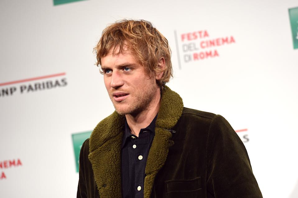 "Johnny Flynn attends the photocall of the movie ""Stardust"" during the 15th Rome Film Festival on October 16, 2020. (Photo by Stefania M. D'Alessandro/Getty Images for RFF)"