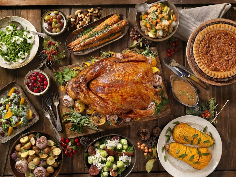 <p>No need to spend hours in the kitchen solo. Everybody's got their superstar recipe: the one passed down through the generations or borrowed from friends that they swear by. Get guests into the fun by inviting everybody to bring their best dish. As long as you've got all the major bases covered, who says you can't have four different types of stuffing? </p>