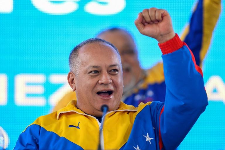 Diosdado Cabello is president of Venezuela's Constituent Assembly which effectively acts as regime rubber stamp