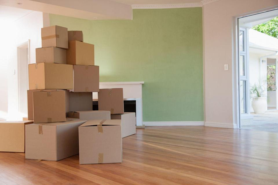 "<p>When you're done moving, it's time to get rid of the cardboard boxes. If you need long term storage, try some nicer <a href=""https://www.goodhousekeeping.com/home/organizing/g25848480/marie-kondo-storage-boxes/"" rel=""nofollow noopener"" target=""_blank"" data-ylk=""slk:storage boxes"" class=""link rapid-noclick-resp"">storage boxes</a>. </p>"