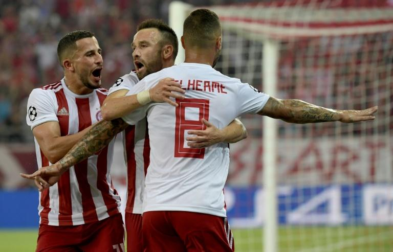 Mathieu Valbuena inspired Olympiakos' comeback against Spurs