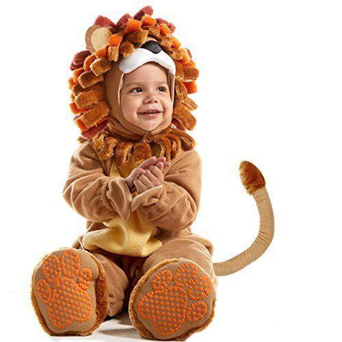 """<p><strong>Spooktacular Creations</strong></p><p>amazon.com</p><p><strong>$22.99</strong></p><p><a href=""""https://www.amazon.com/dp/B075BPYQ6R?tag=syn-yahoo-20&ascsubtag=%5Bartid%7C2089.g.1709%5Bsrc%7Cyahoo-us"""" rel=""""nofollow noopener"""" target=""""_blank"""" data-ylk=""""slk:Shop Now"""" class=""""link rapid-noclick-resp"""">Shop Now</a></p><p>If you haven't heard (but who hasn't?), <em>The Lion King </em>has gotten a total makeover. While the film does the work of converting this generation of little ones into """"Hakuna Matata"""" mantra lovers, you can give your little fan a head start with this lion costume. With a mane like this one, your babe is totally Mufasa. </p>"""
