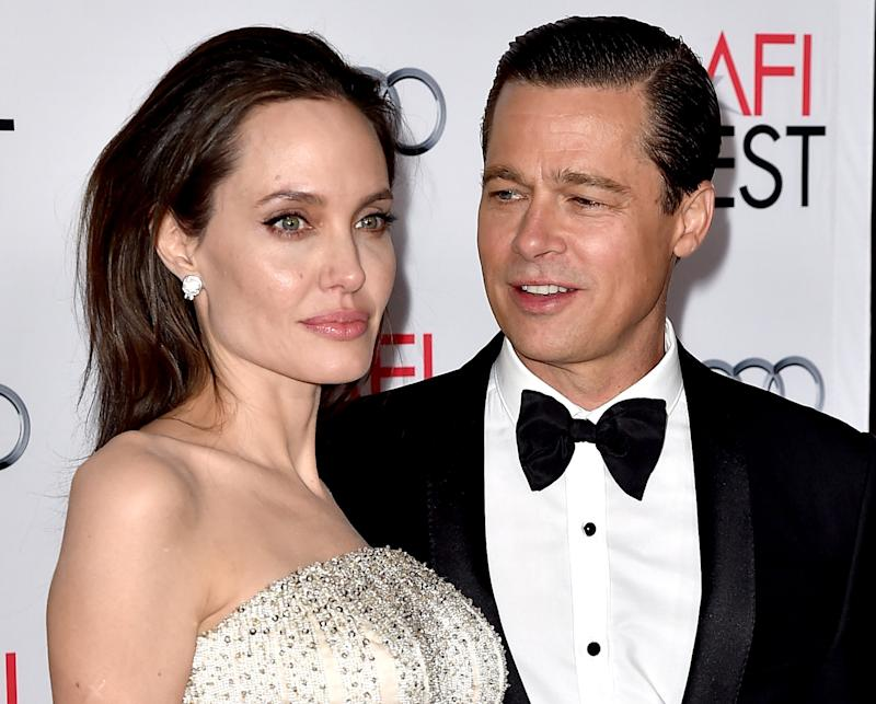Angelina Jolie Pitt opened up about her relationship with Brad Pitt. Photo: Getty Images