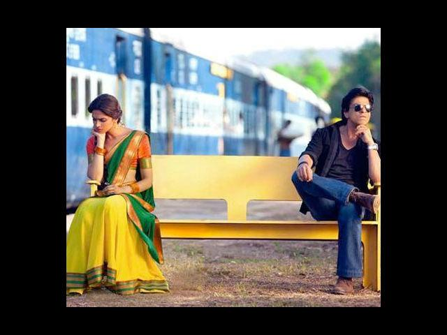 <b>4. Shah Rukh Khan and Deepika Padukone in Chennai Express</b><br> The last time they came together was in the 2007 Farah Khan film, 'Om Shanti Om', which was a huge hit. Let's see if Shah Rukh Khan and Deepika Padukone can recreate the magic now in Rohit Shetty's 'Chennai Express'.