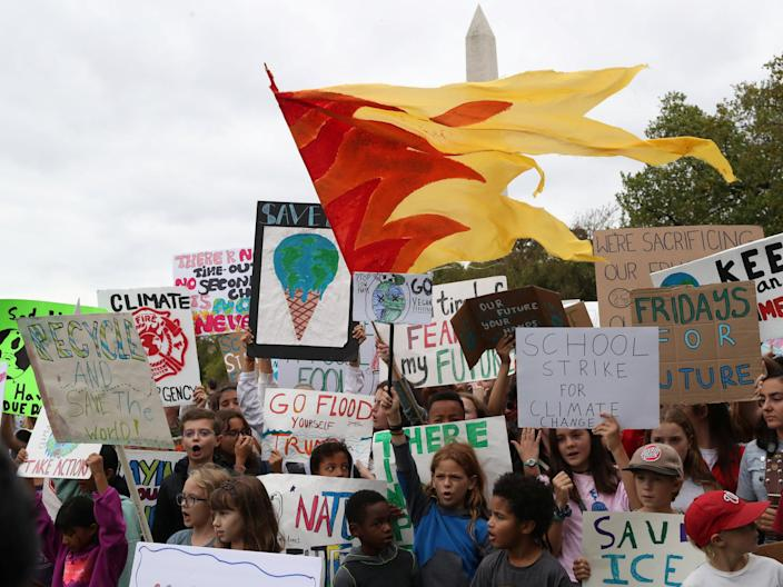climate protest washington september 13 2019