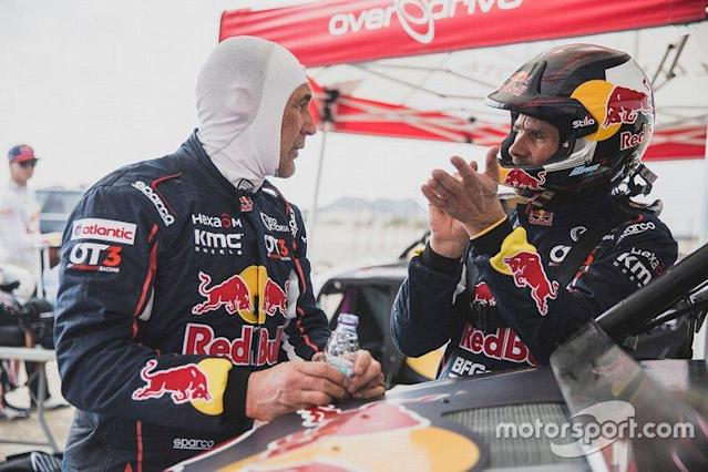 """#403 Red Bull Off-Road Team USA: Cyril Despres, Mike Horn <span class=""""copyright"""">Flavien Duhamel - Red Bull Content Pool</span>"""