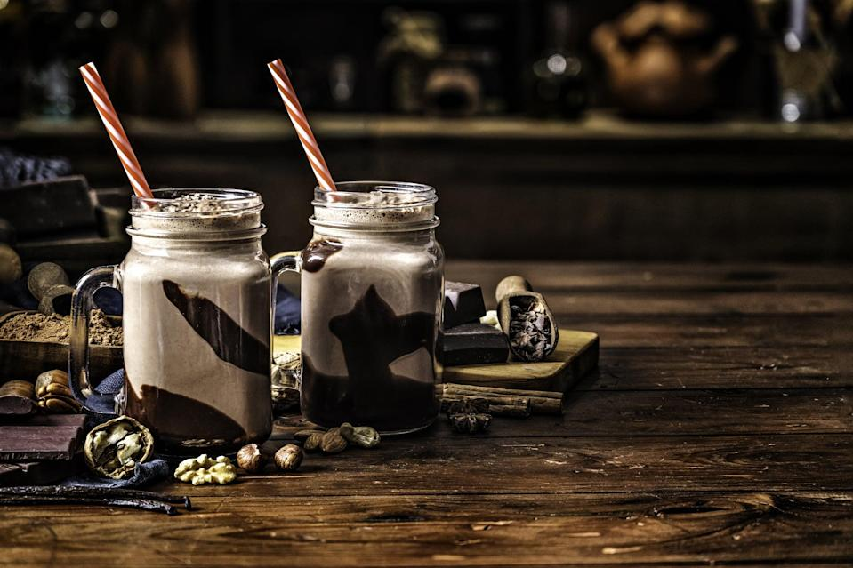 """<p>Dark rum, coffee liqueur, creme de cacao, and chocolate syrup make this Tennessee favorite one to remember. Whether it's made as a pick-me-up in the morning or a nighttime treat, you'll want one of these chocolaty cocktails any hour of the day.</p> <p><strong>Get the recipe</strong>: <a href=""""https://www.popsugar.com/buy?url=https%3A%2F%2Fdrizly.com%2Fbushwacker%2Fr-2dba67e8dc049dc8&p_name=bushwacker&retailer=drizly.com&evar1=yum%3Aus&evar9=47471653&evar98=https%3A%2F%2Fwww.popsugar.com%2Ffood%2Fphoto-gallery%2F47471653%2Fimage%2F47475468%2FTennessee-Bushwacker&list1=cocktails%2Cdrinks%2Calcohol%2Crecipes&prop13=api&pdata=1"""" class=""""link rapid-noclick-resp"""" rel=""""nofollow noopener"""" target=""""_blank"""" data-ylk=""""slk:bushwacker"""">bushwacker</a></p>"""