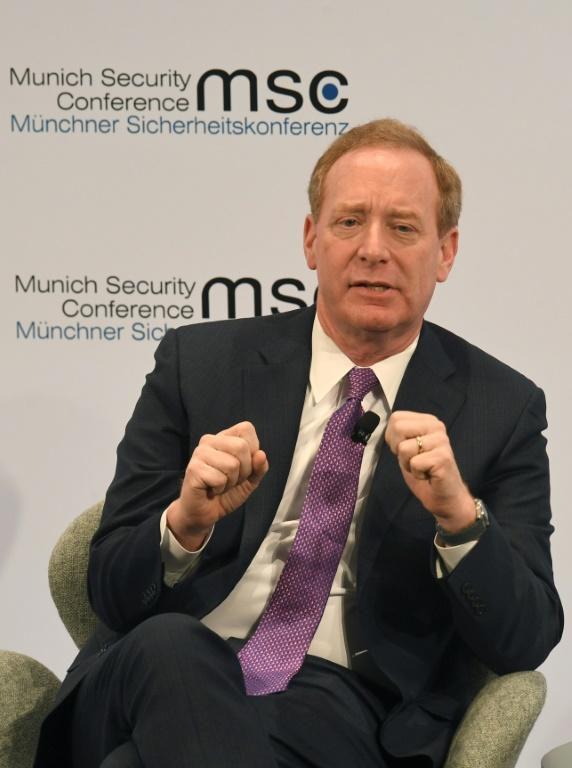 "Microsoft president Brad Smith said the massive cyberattack is more than ""espionage as usual"" and represents a major threat to the US and the world"