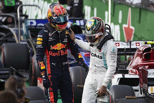 Hamilton chose not to defend himself over collision