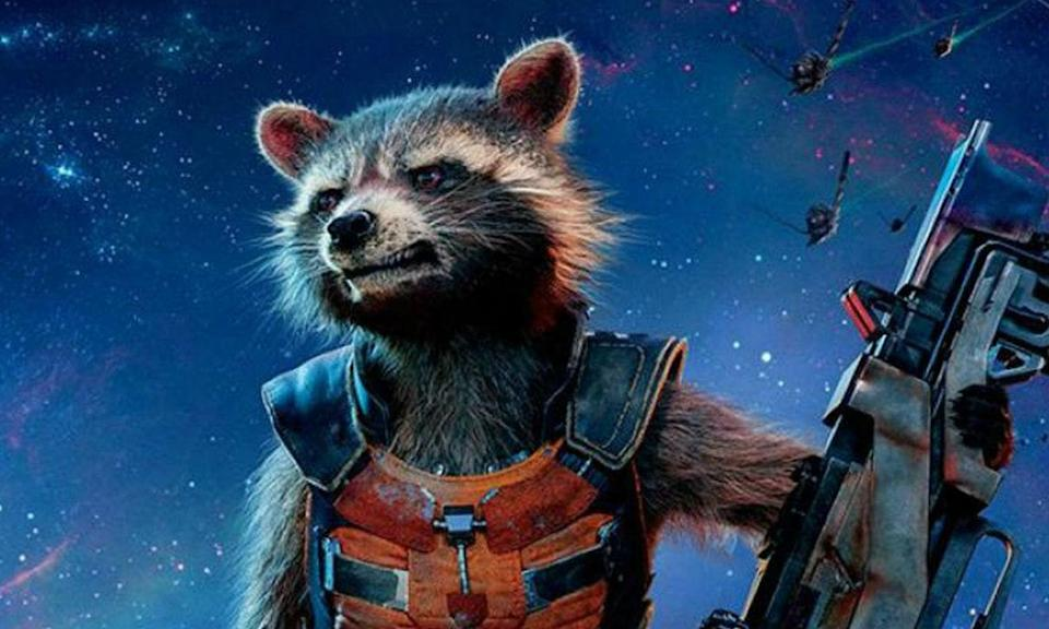 <p><span><strong>Played by:</strong> Bradley Cooper</span><br><span><strong>Last appearance:</strong> </span><i><span>Guardians of the Galaxy Vol. 2</span></i><br><span><strong>What's he up to?</strong> Rocket came to an emotional realisation at the end of <em>GOTG2</em> that he cared more about his friends than he let on and despite how mean he was, the Guardians would never stop caring about him. He's still with them as they journey across the galaxy.</span> </p>