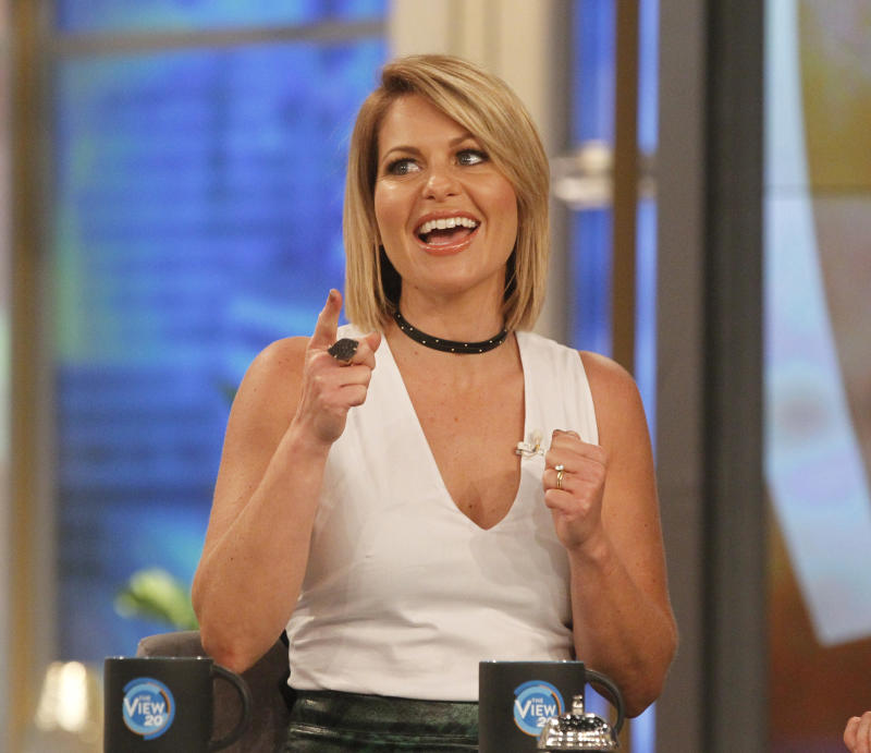 "Candace Cameron Bure, pictured in 2016, co-hosted ""The View"" for two seasons. (Photo: Getty Images)"