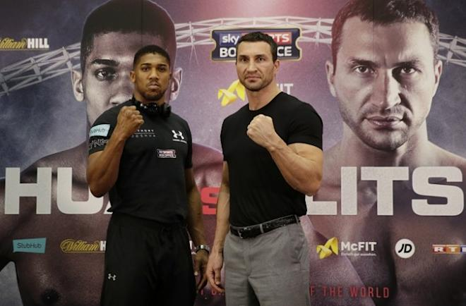 Anthony Joshua vs Wladimir Klitschko, boxing, boxing news, IBF heavyweight title, Wembley stadium, Anthony Joshua news, Wladimir Klitschko news, Hayden Panettiere