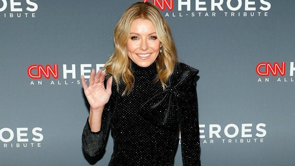Kelly Ripa's Family Christmas Card With Mark Consuelos Features All Her Personalities