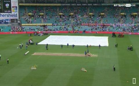 Covers coming off at Sydney - Credit: BT Sport 1