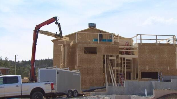 The construction industry has been extremely busy because of a boom in the Halifax housing market.