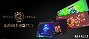 Official Licensed Mortal Kombat Gaming Mousepads from Cybeart