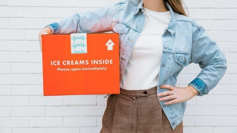 Ordering ice cream online may be convenient, but it's definitely pricey.