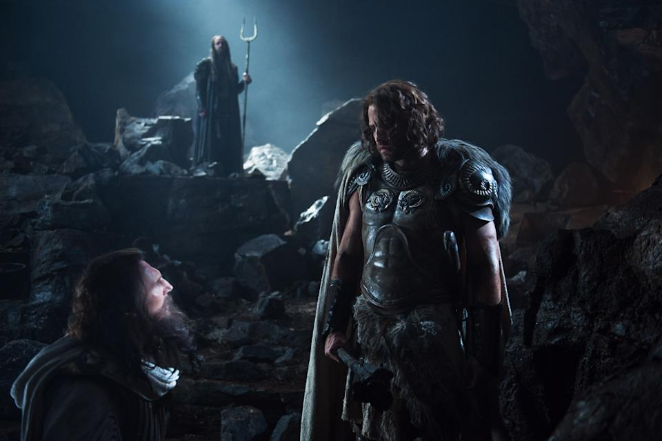 "Liam Neeson, Ralph Fiennes and Edgar Ramirez in Warner Bros. Pictures' <a href=""http://movies.yahoo.com/movie/wrath-of-the-titans/"" data-ylk=""slk:Wrath of the Titans"" class=""link rapid-noclick-resp"">Wrath of the Titans</a> - 2012"
