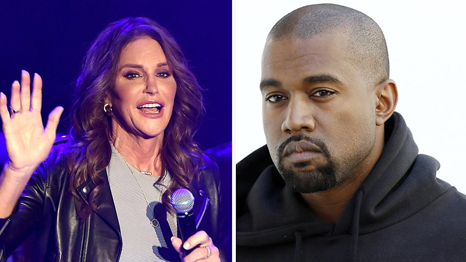 Caitlyn Jenner has revealed she's keen to work with Kanye West as his Vice President. Photo: Getty