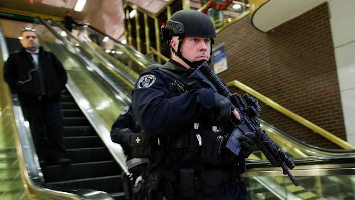 Police in Port Authority