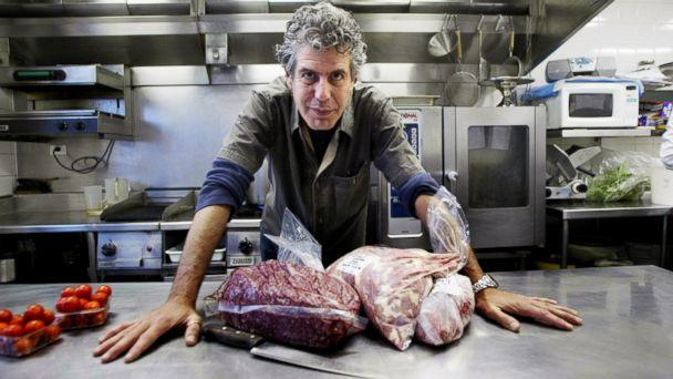 PHOTO: Chef Anthony Bourdain from New York in Sydney in this March 17, 2005 file photo. (Fairfax Media via Getty Images, FILE)