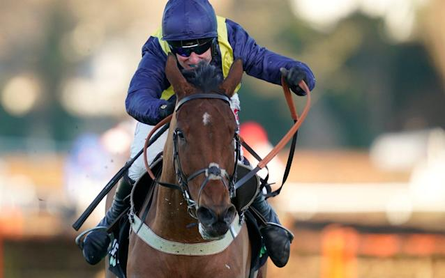Robbie Power urges Fiddlerontheroof to victory at Sandown on Saturday - Getty Images Europe