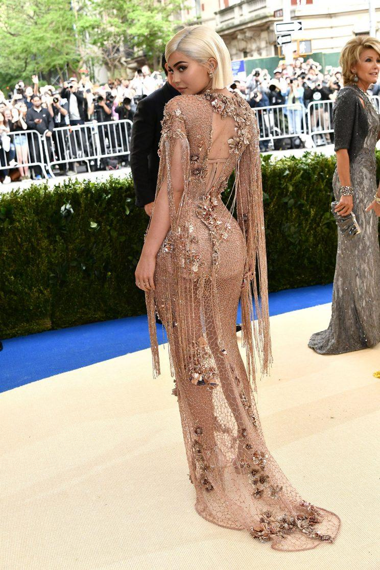 Kylie Jenner Wears a Totally See Through Gown to the Met Gala [Video]