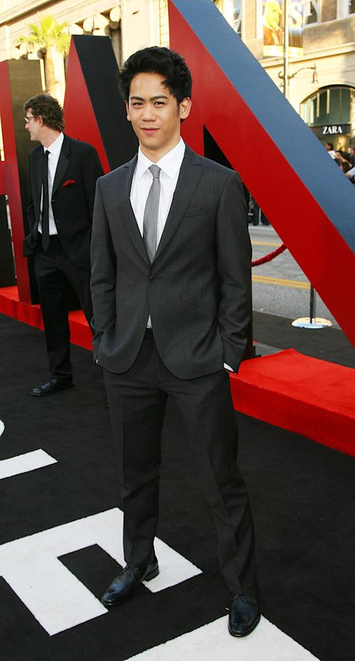 """<a href=""""http://movies.yahoo.com/movie/contributor/1810192481"""">Mason Lee</a> attends the Los Angeles premiere of <a href=""""http://movies.yahoo.com/movie/1810187722/info"""">The Hangover Part II</a> on May 19, 2011."""