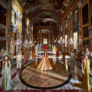"<p>In a breathtaking display at the Galeria Colonna in Rome, Pierpaolo Piccioli presented his latest couture collection, filled with brilliant golds and vivid pinks.</p><p>""The rituals, the process, and the values of Couture are timeless. They celebrate the human: the mind that conceives and the hand that creates and gives value.""</p><p>Piccioli's designs offer the luxury and opulence that so many of us have been missing since the start of the pandemic, absorbing the audience into the fantasy world of Valentino haute couture.</p><p>View the full collection <a href=""https://www.valentino.com/en-gb/collections/women/haute-couture-spring-summer"" rel=""nofollow noopener"" target=""_blank"" data-ylk=""slk:here"" class=""link rapid-noclick-resp"">here</a>.</p>"