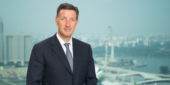 20) Simon Cooper, CEO, corporate, commercial & institutional banking, Standard Chartered Bank. Photo: Standard Chartered Bank