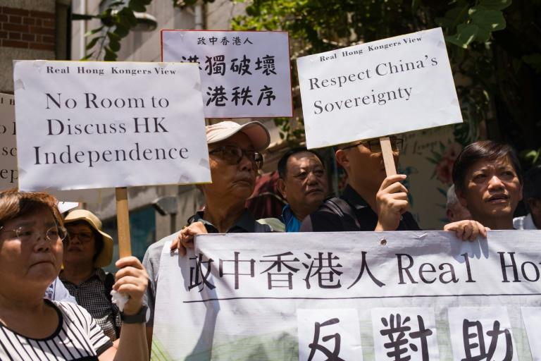 Pro-Beijing groups have long opposed any discussion of Hong Kong independence