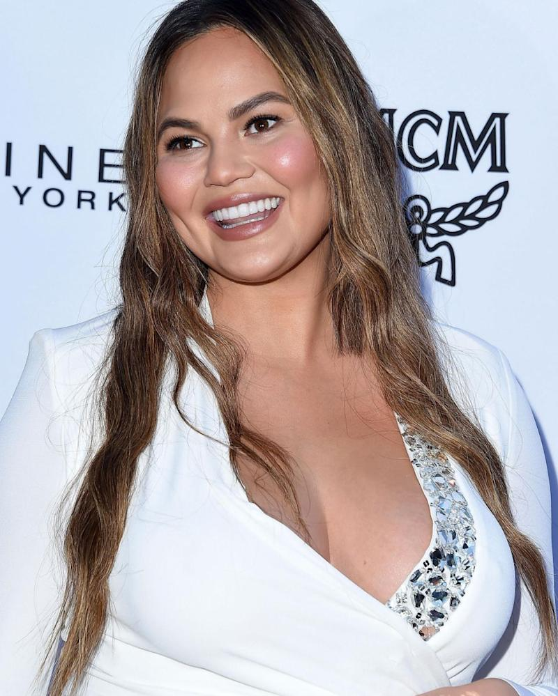Of course Chrissy Teigen had a great reaction to Kate going into labour. Source: Getty