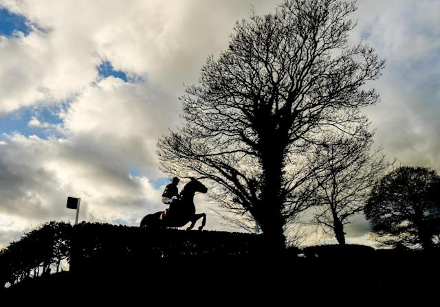 <p>Naas , Ireland – 5 February 2017; A general view during the P.P Hogan Memorial Cross Country Steeplechase at Punchestown Racecourse in Naas, Co. Kildare. (Photo By Ramsey Cardy/Sportsfile via Getty Images) </p>