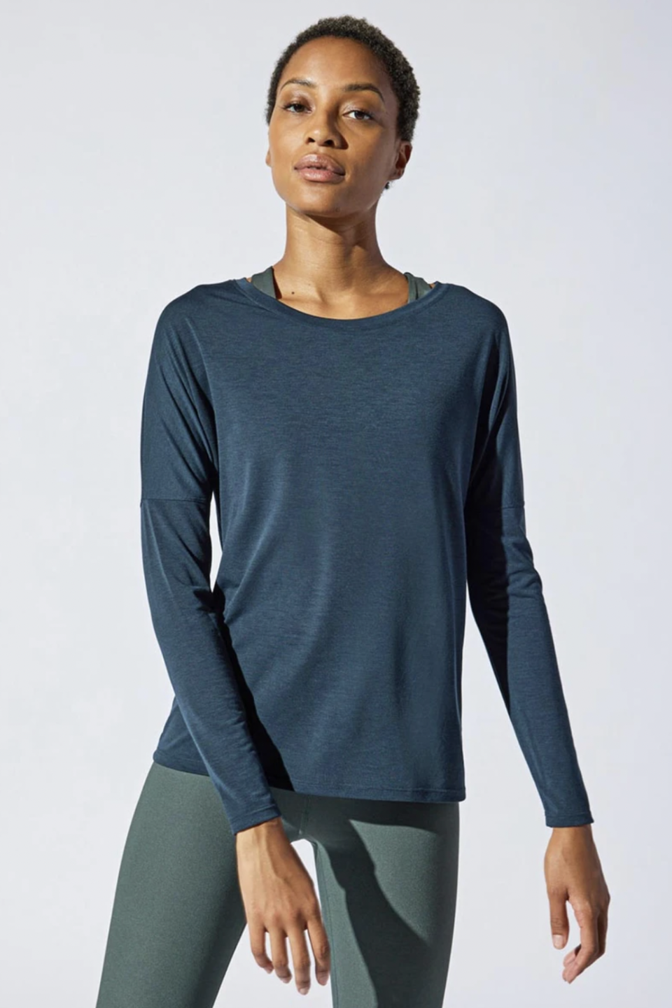 Liberate Recycled Polyester Top (Photo via MPG Sport)