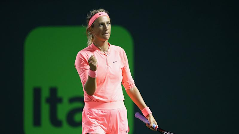 Miami Open run building Azarenka's confidence