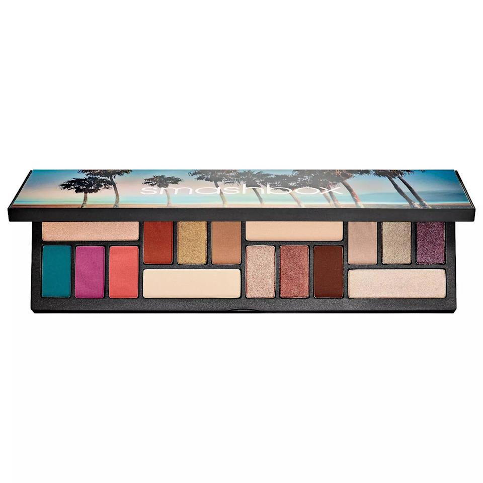 """<p>Aquarius is all about community. While they don't need an excuse to wear good makeup, they'll appreciate this palette inspired by the streets, sunsets, and skylines of Los Angeles. </p> <p><strong>$45</strong> (<a href=""""https://www.sephora.com/product/la-cover-shot-eyeshadow-palette-P439938?icid2=products%20grid:p439938"""" rel=""""nofollow noopener"""" target=""""_blank"""" data-ylk=""""slk:Shop Now"""" class=""""link rapid-noclick-resp"""">Shop Now</a>)</p>"""