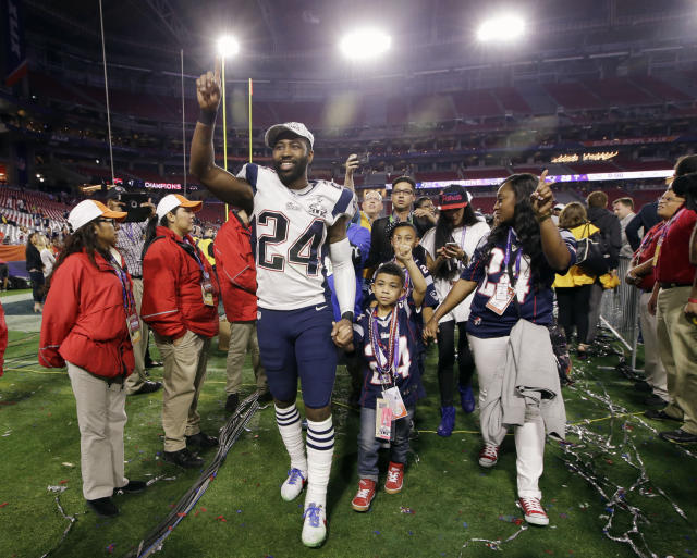 Revis ends his career a Super Bowl champ and four-time All-Pro. (AP)