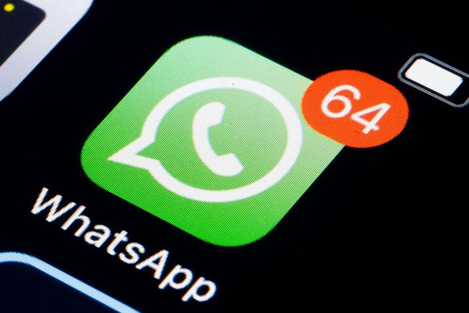 BERLIN, GERMANY - FEBRUARY 25: The Logo of instant messaging service WhatsApp is displayed on a smartphone on February 25, 2018 in Berlin, Germany. (Photo by Thomas Trutschel/Photothek via Getty Images)