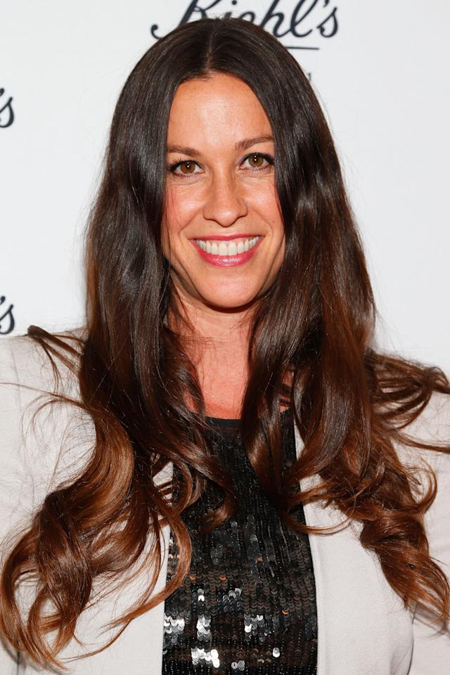 SANTA MONICA, CA - APRIL 17:  Singer/songwriter Alanis Morissette attends Kiehl's launch of an Environmental Partnership Benefiting Recycle Across America at Kiehl's Since 1851 Santa Monica Store on April 17, 2013 in Santa Monica, California.  (Photo by Imeh Akpanudosen/Getty Images)