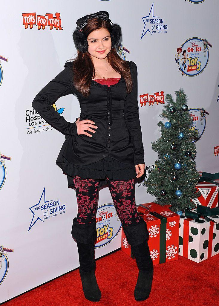 Ariel Winter at the 2011 premiere of Disney on Ice Presents Toy Story 3 in Los Angeles. (Photo: Getty Images)