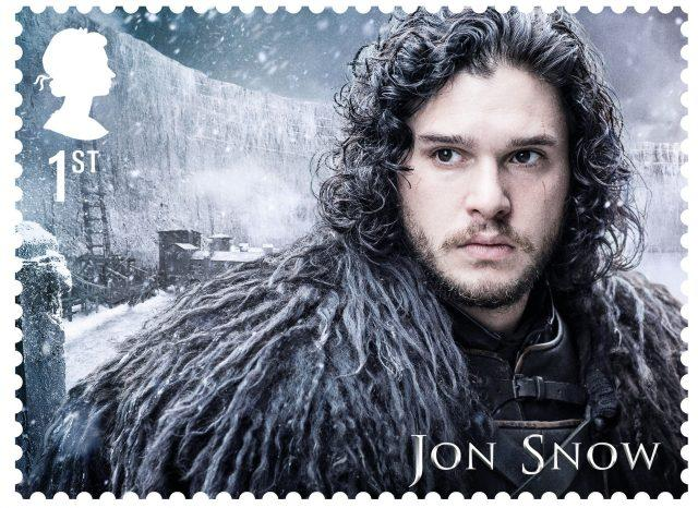 A Jon Snow Game Of Thrones stamp (Royal Mail/PA)