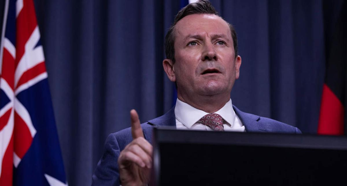 Premier doubles down after anti-vaxxers breach his home security