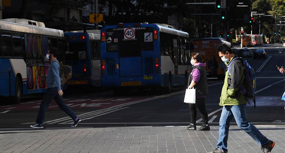 Sydney residents have woken on Sunday to tightened restrictions. Source: Getty