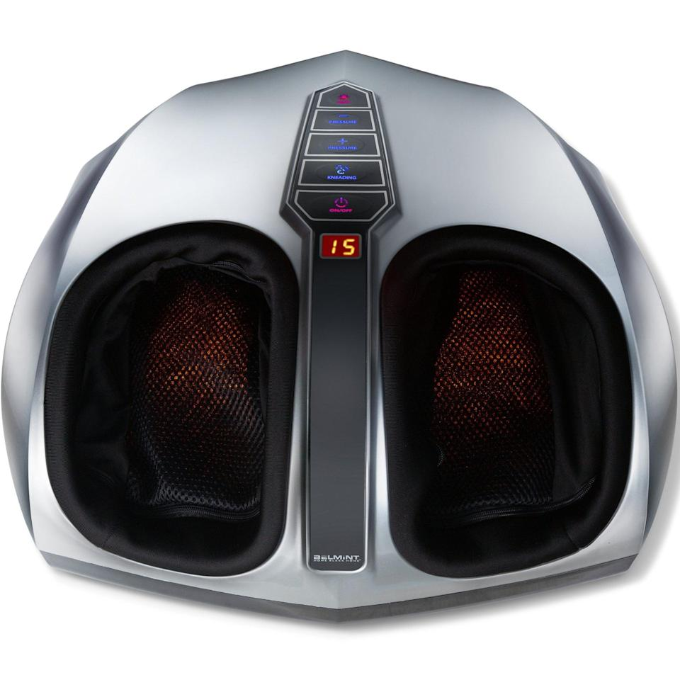 <p>Treat them to this relaxing <span>Belmint Shiatsu Foot Massager with Heat</span> ($130).</p>